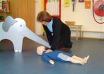 cursus EHBO bij kinderen